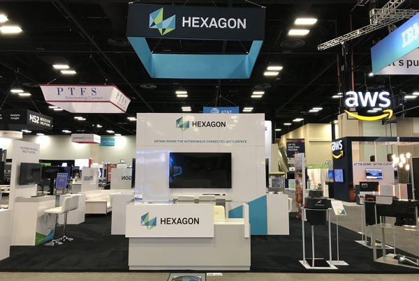 Hexagon Trade Show Exhibit