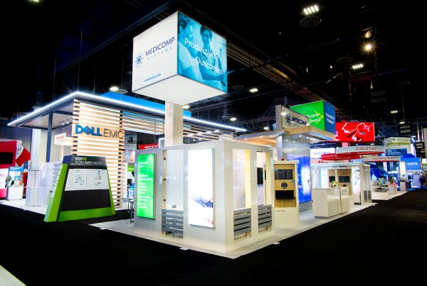 Medicomp Trade Show Exhibit better exhibits means a better experience