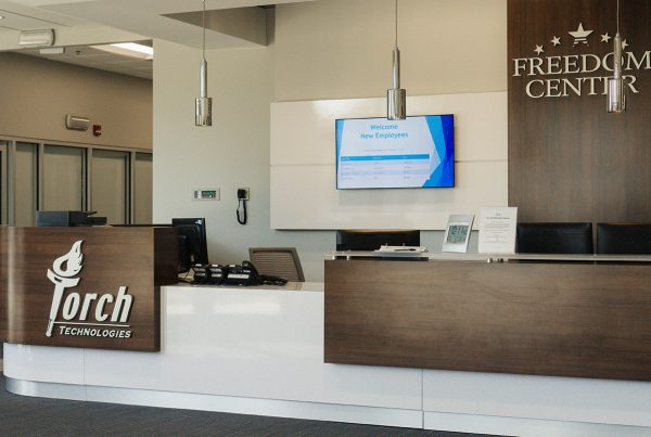 Torch Technologies Environment reception counter