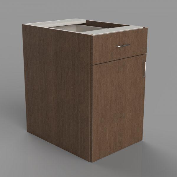 Single Door Lower Drawer