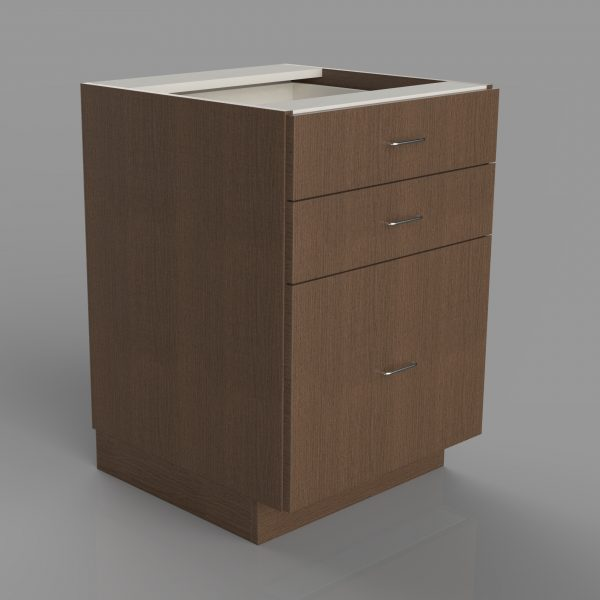 Three Drawers Lower